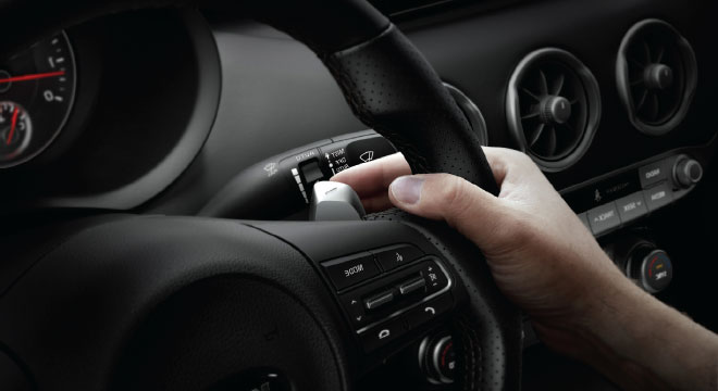 Kia Stinger Philippines Paddle Shifters