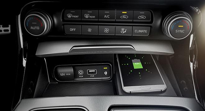 Kia Stinger Philippines Wireless Charging