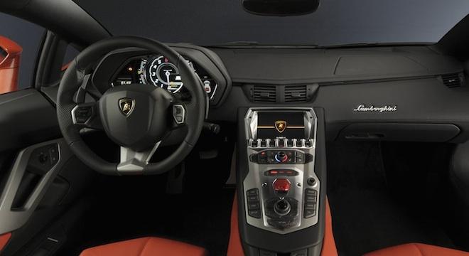 Lamborghini Aventador 2018 Philippines interior
