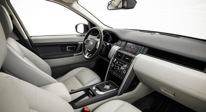 Land Rover Discovery Sport 2018 interior