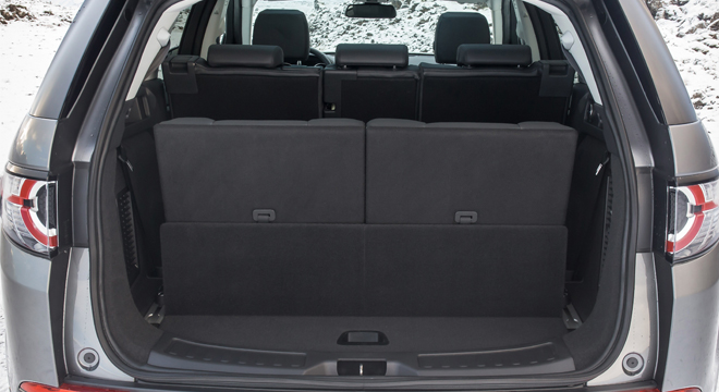 Land Rover Discovery Sport 2018 trunk