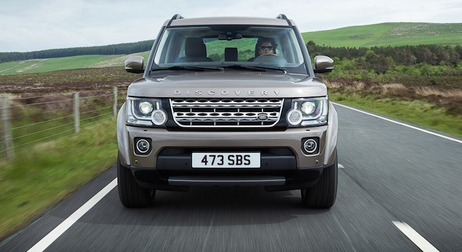Land Rover Discovery4 2018 front