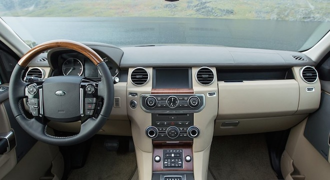 Land Rover Discovery4 2018 interior