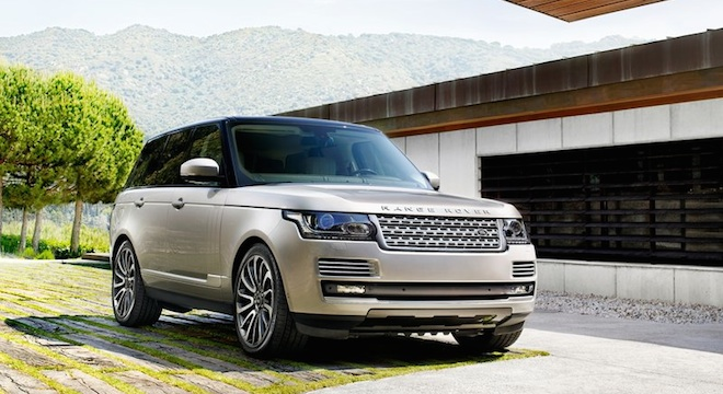 Land Rover Range Rover 2018 front