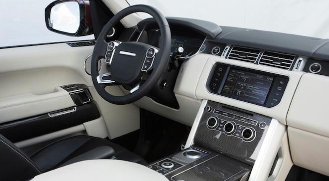 Land Rover Range Rover 2018 interior