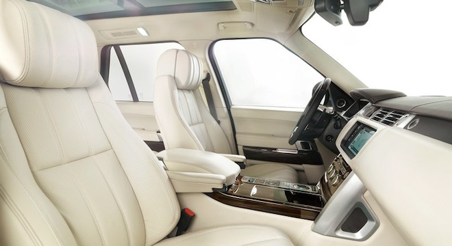 Land Rover Range Rover 2018 seats