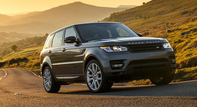Land Rover Range Rover Sport 2018 front