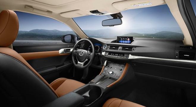 Lexus CT 2018 interior