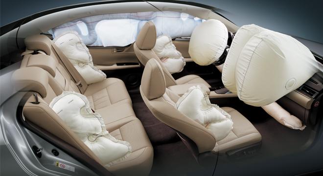 Lexus ES 2018 airbags