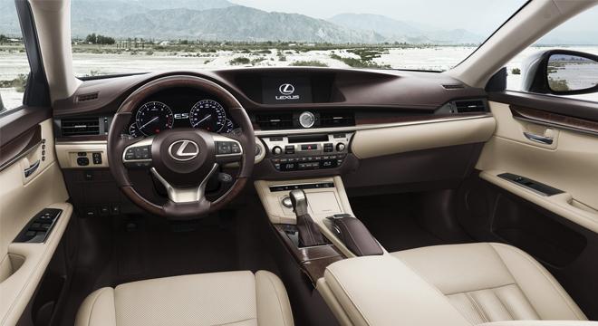 Lexus ES 2018 interior