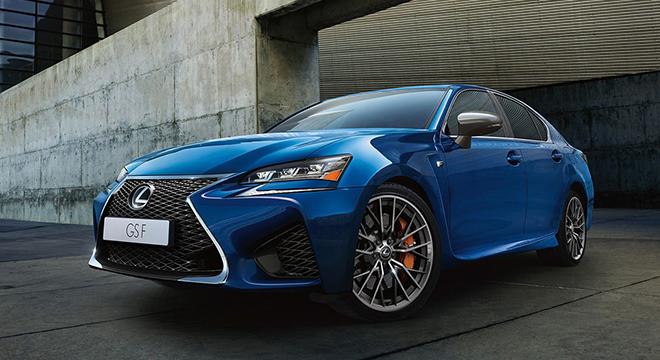 Lexus GS 2018 front