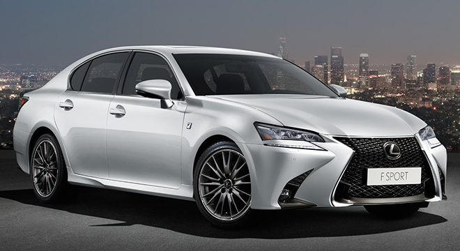 Lexus GS 2018 side