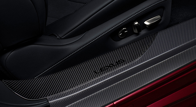 Lexus LC 2018 carbon fiber
