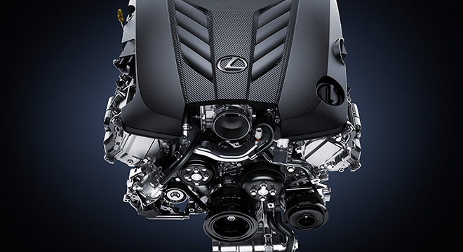 Lexus LC 2018 engine