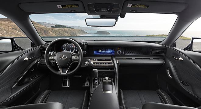 Lexus LC 2018 interior