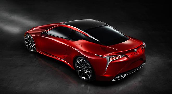 Lexus LC 2018 side