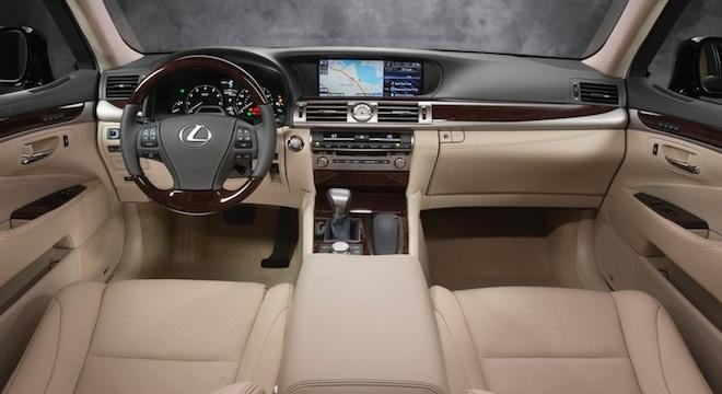 Lexus LS 2018 interior