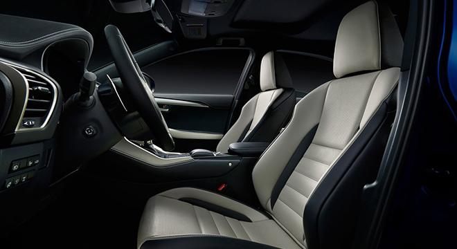 Lexus NX 2018 seats