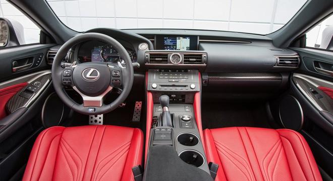 Lexus RC 2018 interior