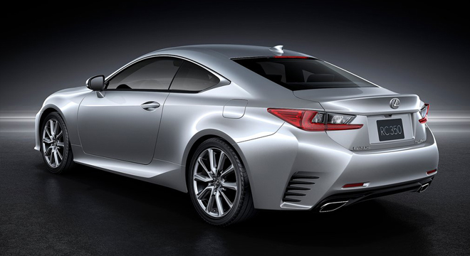 Lexus RC 2018 rear