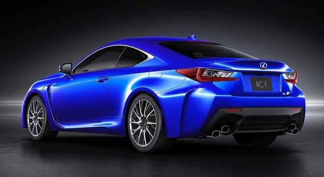 Lexus RC 2018 rear
