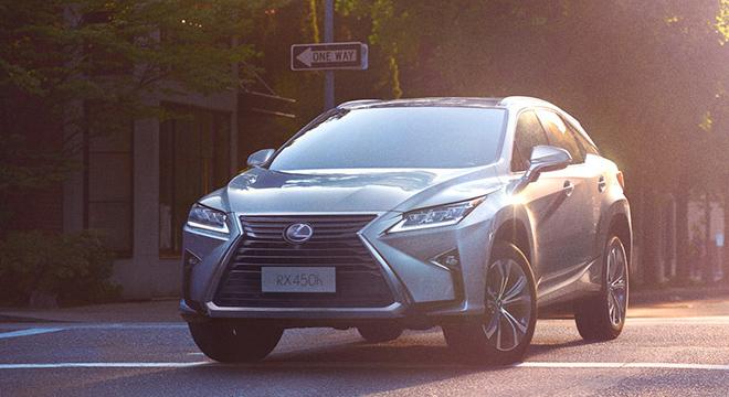 Lexus RX 2018 front
