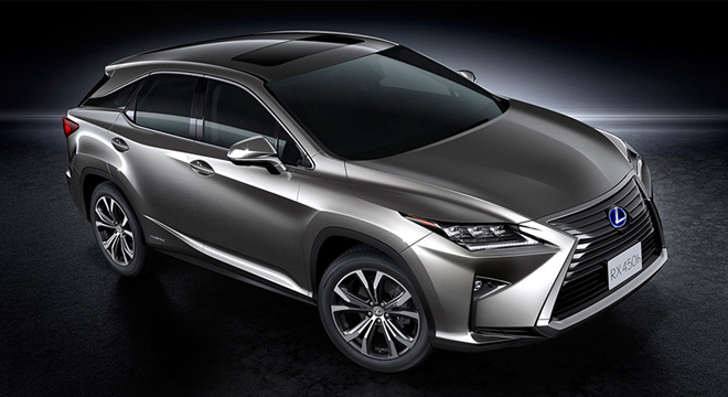 Delightful Lexus RX 2018 Side