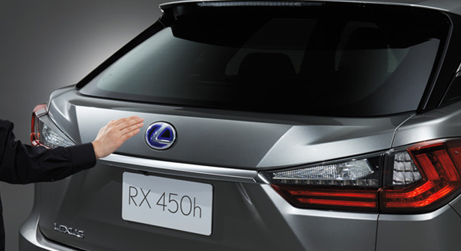Lexus RX 2018 trunk