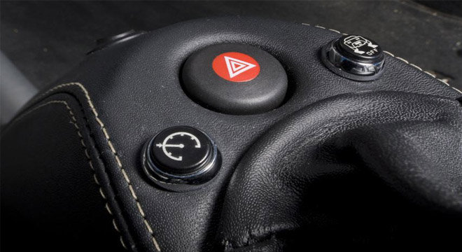 Lotus Elise 2018 dash buttons