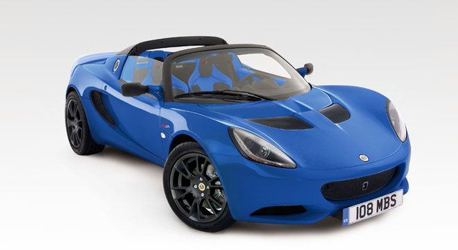 Lotus Elise 2018 front
