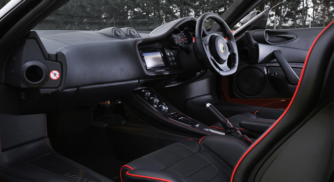 Lotus Evora 2018 interior