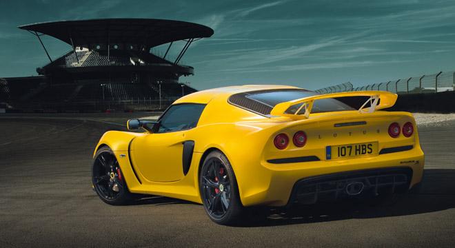 Lotus Exige 2018 rear