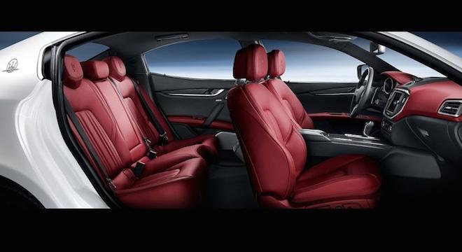 Maserati Ghibli 2018 Philippines seats