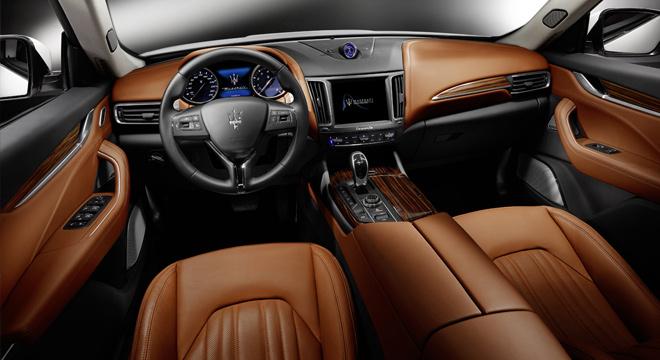 Maserati Levante 2018 Philippines interior