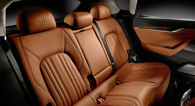 Maserati Levante 2018 Philippines seats