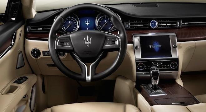 Maserati Quattroporte 2018 Philippines interior