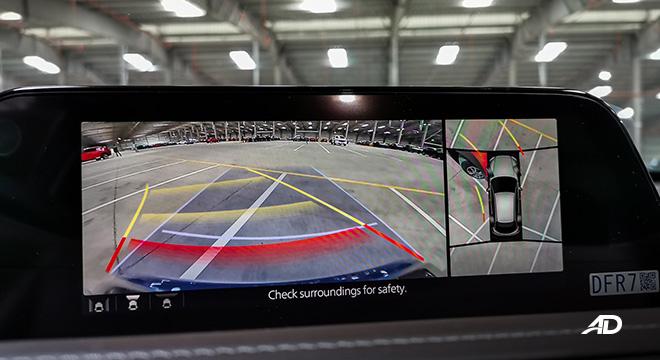 mazda cx-30 beauty shot around view camera interior