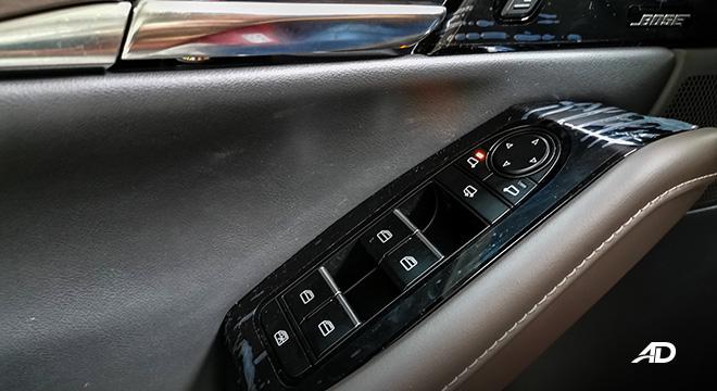 mazda cx-30 beauty shot door controls interior