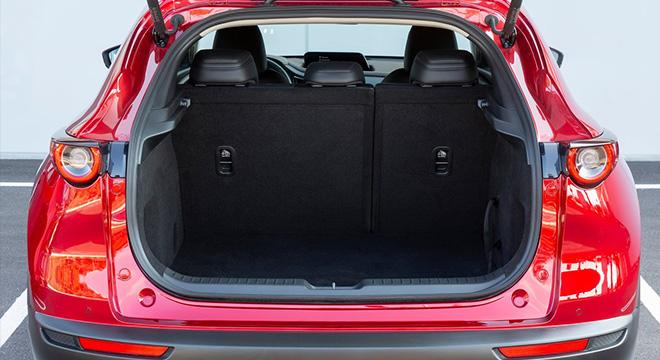 mazda cx-30 press photo trunk cargo interior