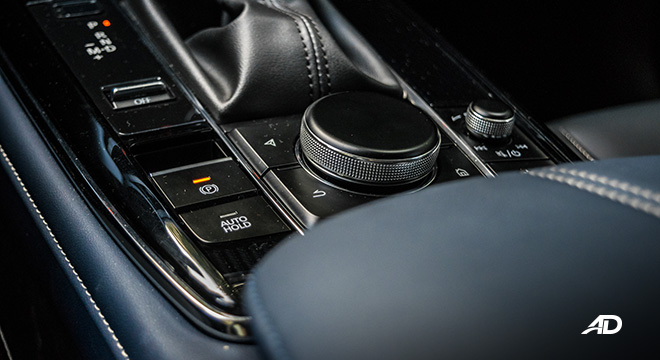 mazda cx-30 review road test commander knob brake hold interior philippines
