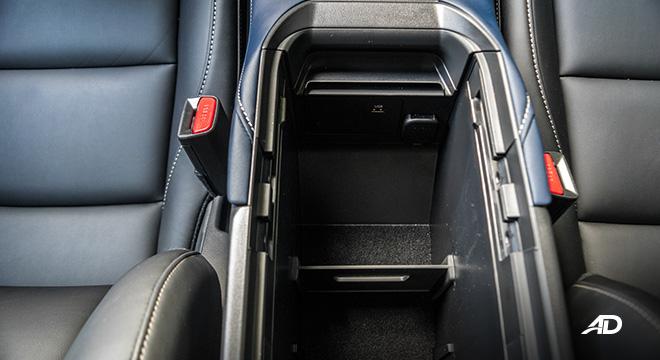 mazda cx-30 review road test console box interior philippines