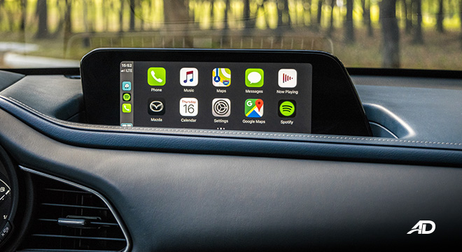 mazda cx-30 review road test infotainment system apple carplay interior philippines