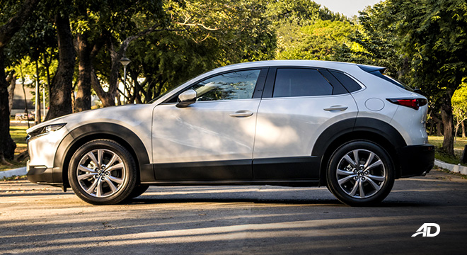 mazda cx-30 review road test side view exterior philippines