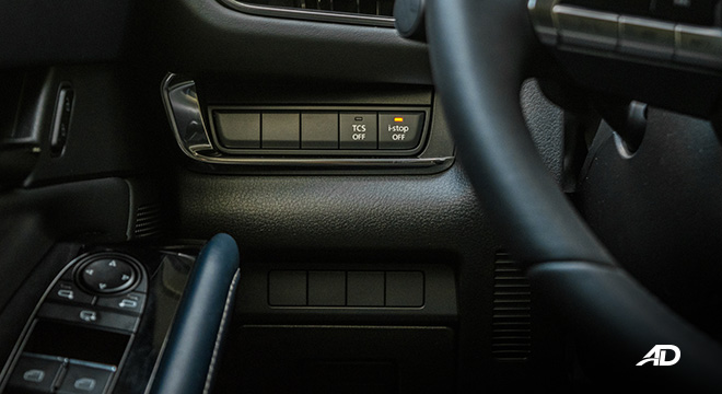 mazda cx-30 review road test tech controls interior