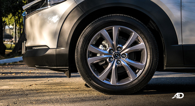 mazda cx-30 review road test wheels exterior