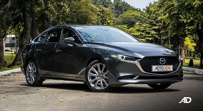 Mazda3 road test review front quarter exterior philippines sedan