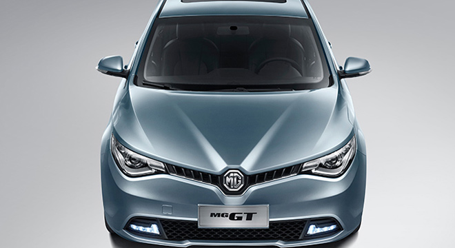 MG GT 2018 front