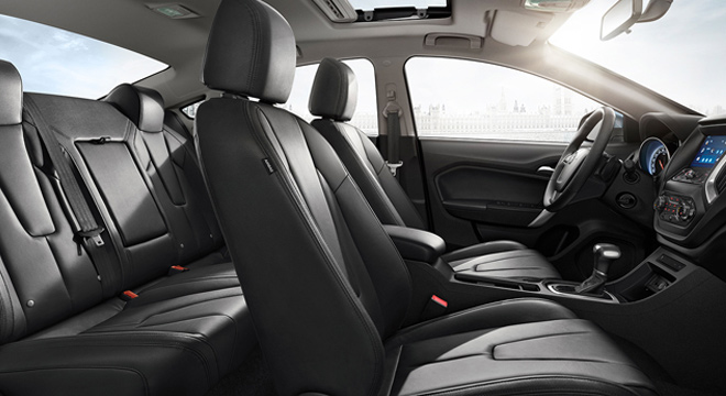 MG GT 2018 seats