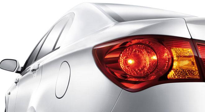 MG MG350 2018 tail light