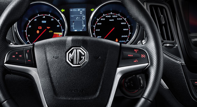 MG MG5 2018 steering wheel